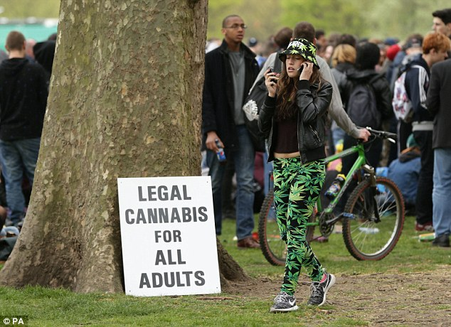 London's Hyde Park - Legalize Cannabis