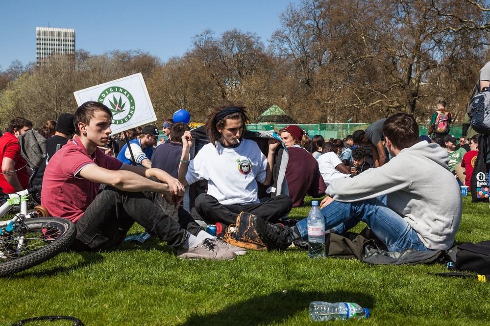 420 Picnics - London's Hyde Park