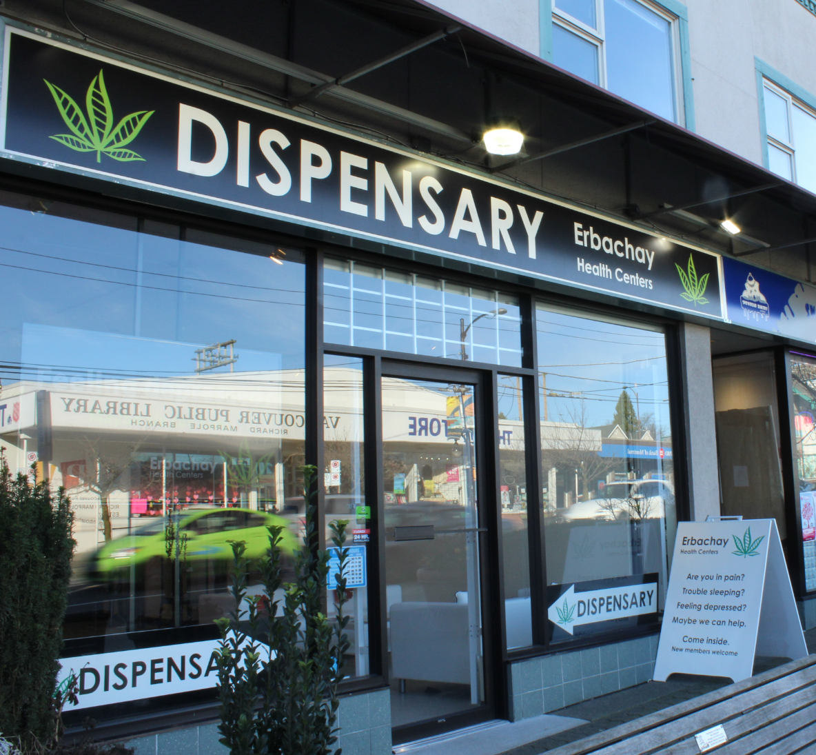A Cannabis Dispensary