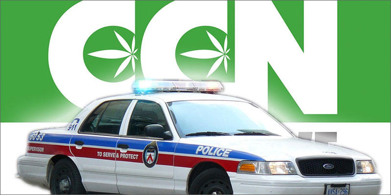 Cannabis Culture - Police Raid