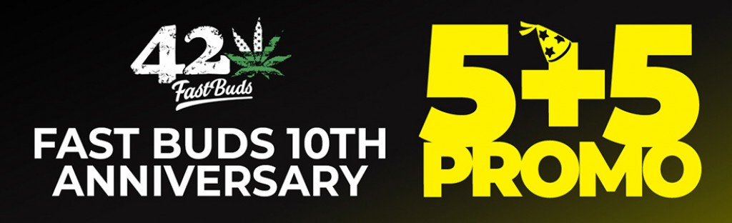 Fast Buds 10th Anniversary Promo