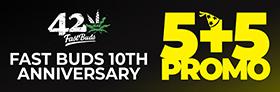 Fast Buds 5+5 Promo