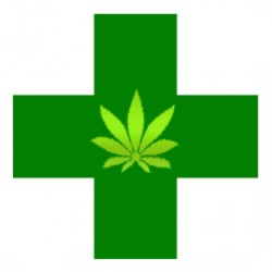Cannabis Medi shops issued a 14 day notice